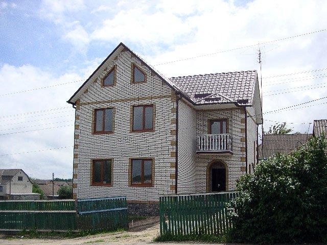 дома из белого силикатного кирпича