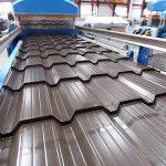 Производство металлочерепицы: сырье, технология и оборудование