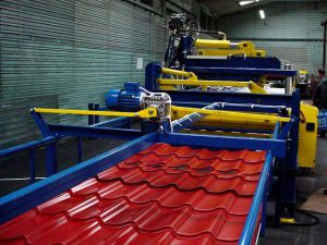 станок для производства металлочерепицы цена