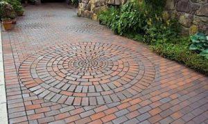 клинкерная тротуарная плитка