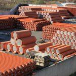 Керамические дренажные, огнеупорные трубы и иное применение материалов