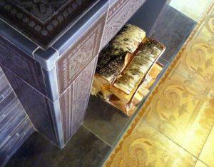 Облицовка печей керамической плиткой своими