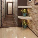 Отделка прихожей керамической плиткой (кафелем) – практичное и декоративное решение