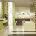 Керамическая плитка – идеальное решение для любой ванной комнаты