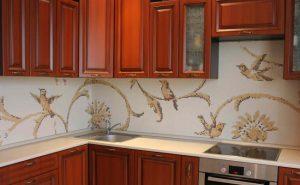 мозаика для кухни на фартук цена