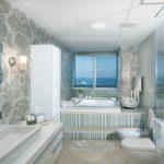 Мозаика для ванной: разнообразие стеклянной, керамической и каменной отделки