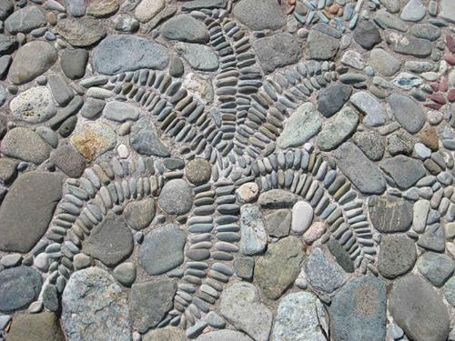 мозаика из морских камней