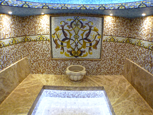 мозаика в бане