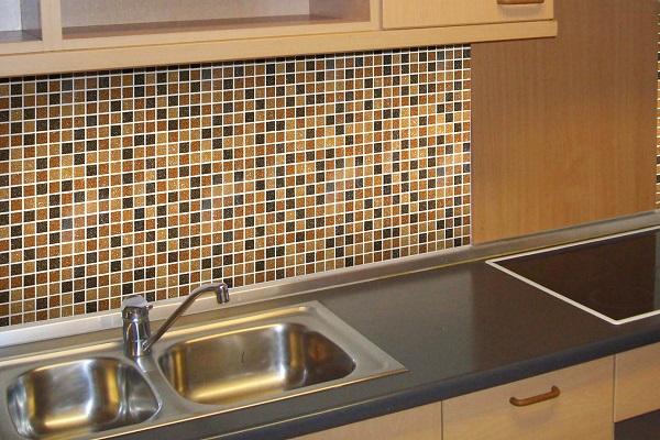 самоклеющаяся мозаика для кухни